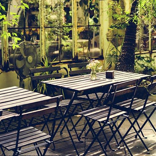 Anlæg af haver og terrasser